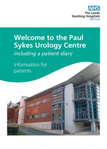 Welcome to the Paul Sykes Urology Centre, including a patient diary