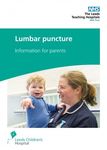 Lumbar Puncture for Children - Information for Parents